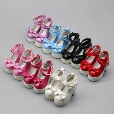 CHUNCHEN 1 đôi giày cao gót kiểu dáng công chúa dành cho búp bê 1/3 1/4 BJD 60cm SD quà tặng dành cho búp bê – INTL