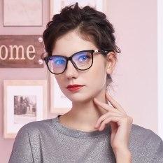 【DayDay Shop】Bộ phận kiểm tra vòng nguyệt quế gương mặt nữ góc phòng kính màu xanh Kính máy tính phục vụ đôi mắt kính