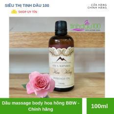 Dầu massage body hoa hồng BBW – 100ml – sieuthitinhdau100