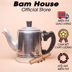 Bình nhôm đựng trà và nước Bam House dung tích 500ml cao cấp BN01 – Bam House