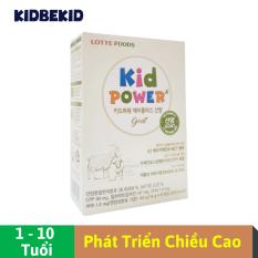 Sữa Dê Tăng Chiều Cao Lotte Foods Kid Power A+, Hộp giấy 10 thanh, bổ sung DHA, khoáng chất, lợi khuẩn | Nhập khẩu Hàn Quốc cho trẻ từ 1-10 tuổi