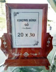 khung ảnh thờ gỗ khổ A4 20 x30cm