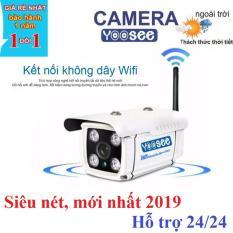 Camera wifi ngoài trời, camera giám sát IP không dây – Độ nét cao Full HD, hàng nhập khẩu bảo hành 2 năm