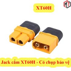 2 Cái – Jack cắm XT60H có chụp bảo vệ ( Jack Cắm Pin Lipo, Nối Nguồn Điện, Pin)
