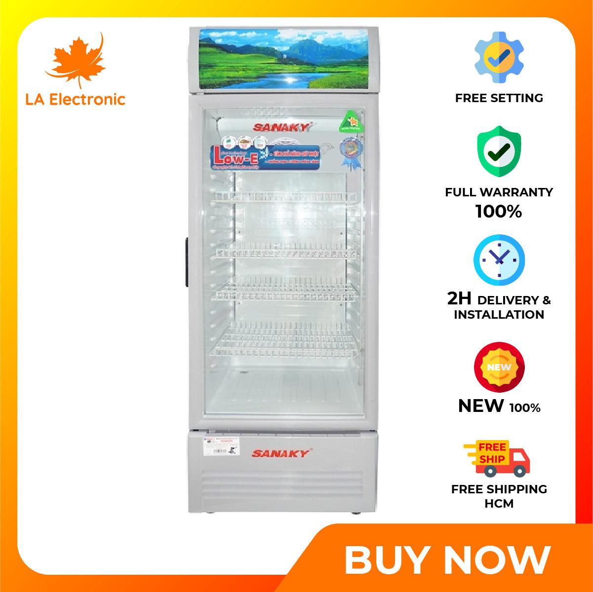 Trả Góp 0% – Tủ mát Sanaky 240 lít VH-308KL – Miễn phí vận chuyển HCM