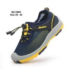 Giày Lưới Bé Trai Và Học Sinh Nam Tiểu Trung Học GB02