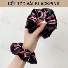 Cột Tóc Vải BLACKPINK – Dây Buộc Tóc BlackPink (Màu Đen)