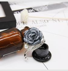 Cài áo hoa hồng Hàn Quốc sang trọng