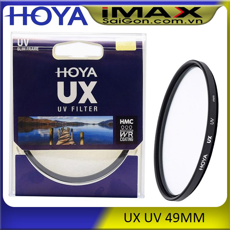 [HCM]Kính lọc Filter Hoya HMC UV UX 49mm + da cừu lau len
