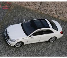 Xe Mô Hình – Mô hình xe Sắt Mercedes-Benz S500 Welly FX tỉ lệ 1:24 màu trắng