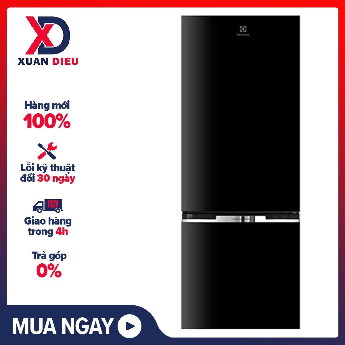 [HCM][Trả góp 0%]Tủ lạnh Electrolux Inverter 320 lít EBB3400H-H – Miễn phí vận chuyển HCM
