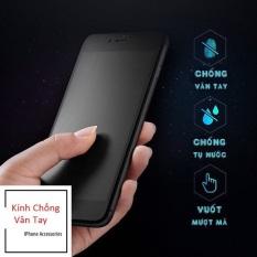 Miếng Dán Màn Hình Kính Cường Lực iPhone Chống Vân Tay Nhám AG Full Màn Hình 9D, Chống Bẩn, Chống Bụi