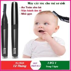 Tông đơ cắt tóc cho bé, Dụng cụ cắt tóc cho trẻ sơ sinh, máy cắt tóc cho trẻ em Bang Dòng Chuyên Dụng Nhỏ gọn, Lưỡi An Toàn