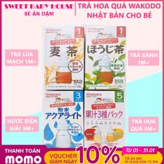 [HCM]Trà Wakodo Nhật Bản vị lúa mạch cho bé từ 1 tháng tuổi. Date 4/2022 – Sweet Baby House