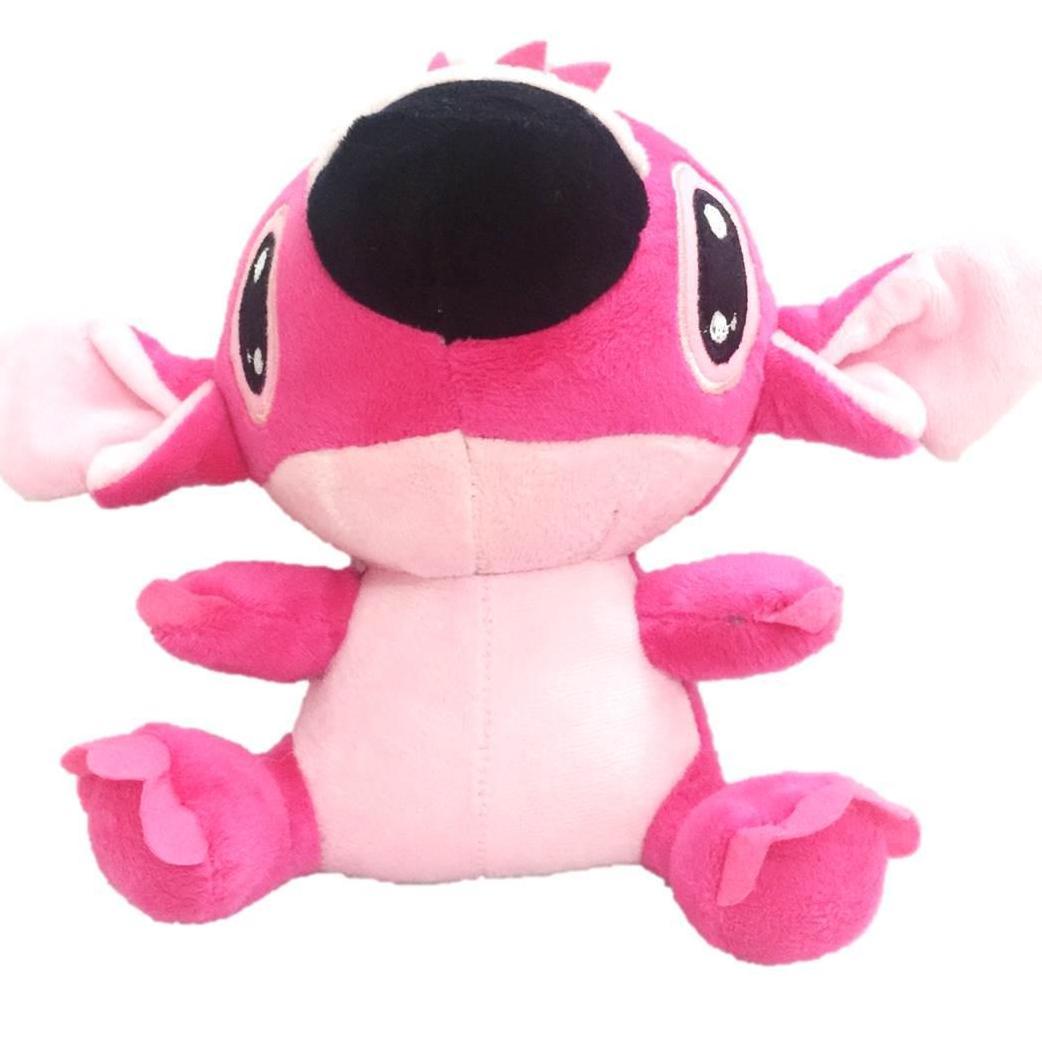 Stitch Gấu bông stitch hồng dễ thương size trung (25cm) thú bông stitch đồ chơi gấu stitch nhồi bông dễ...