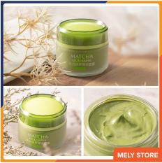 Mặt nạ bùn trà xanh giảmmụn đầu đen Laikou Matcha Mud Mask giúp dưỡng ẩm,se khít lỗ chân lông, làm săn và tăng độ đàn hồi, cấp nước, thải độc, phục hồi da, chống lão hóa, mặt nạ dưỡng da nội địa Trung MelystoreSPU113