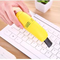 Máy hút bụi mini cầm tay, hút bụi bàn phím laptop, máy tính, vi mạch, khe cửa, quạt, cổng sạc USB – FUNNY TIMES