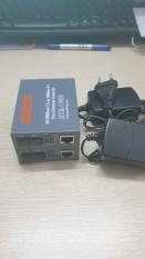 Bộ 2 Converter Cáp Quang Chuyển Đổi Quang Điện Ftth Net-Link 1100AB Nguồn 5V2A Xịn 100g