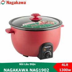 Nồi lẩu điện đa năng Nagakawa