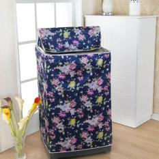 Áo Trùm Bảo Vệ Máy Giặt Cửa Trên 7-8Kg Satin Chống Nắng Nước Bụi
