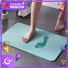 LoveBox Tấm thảm lót sàn nhà tắm chất liệu thấm hút cực nhanh chống trượt chân – INTL