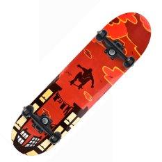 Ván Trượt Skateboard Gỗ Phong 7 Lớp , Bánh LED 7 màu, Mặt Nhám Cao Cấp, Ván Trượt Thể Thao Chuyên Nghiệp