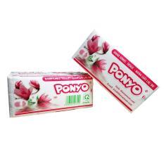 Khăn giấy lau tay, giấy lau đa năng Ponyo (100 tờ/ bịch x 2 lớp)