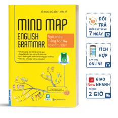 Mindmap English Grammar – Ngữ Pháp Tiếng Anh Bằng Sơ Đồ Tư Duy Cho Người Học Căn Bản – Học Kèm App