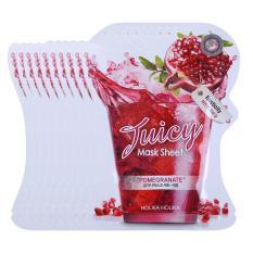 Combo 10 Mặt Nạ Dưỡng Da Chiết Xuất Lựu Tươi Holika Holika Juicy Mask Sheet Pomegranate – 20ml