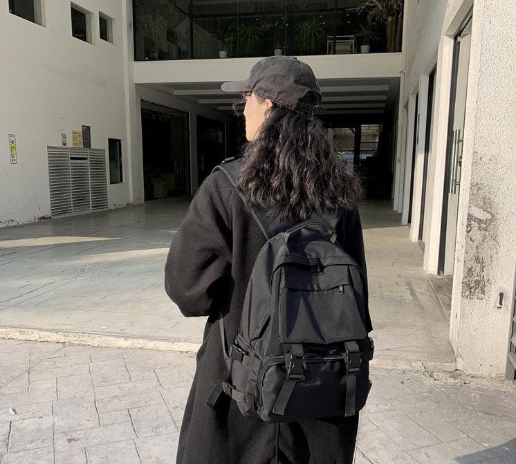 Balo unisex xịn tuyển chọn Hàn Quốc – Balo cực chất – kết hợp giữa ulzzang basic và street style