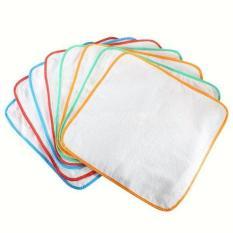 Set 5 Tấm lót chống thấm lót cotton cho bé kích thước 30x30cm