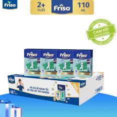[Ưu đãi độc quyền duy nhất 12.05] [Freeship] Thùng 48 hộp sữa bột pha sẵn Friso Gold Vani 110ml cho bé trên 2 tuổi