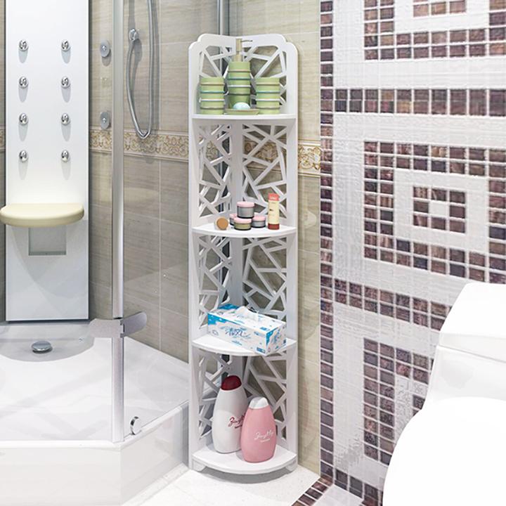 Kệ góc nhà tắm kệ góc 4 tầng chống nước tuyệt đối ( Mắt Lưới ) – IG151