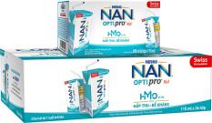 Thùng 36 hộp Sữa bột pha sẵn Nestle NAN OPTIPRO 4 RTD cho trẻ trên 1 tuổi (RTD) 115ml (6x115ml)