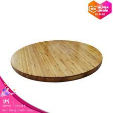 Mặt bàn tre HIGHLAND D60 – Mặt bàn tre ép dày 25mm, đường kính d=60cm