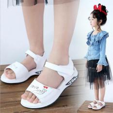 Sandal dép học sinh kiểu dáng Hàn Quốc êm chân