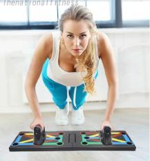 Dụng cụ tập thể dục cách tay xếp gọn tập cơ,gảm cân nhanh chóng ABS.đa năng ( nam vs nữ)
