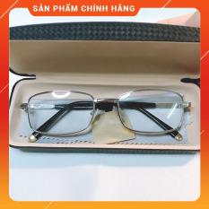 Kính lão thị viễn thị trung niên mắt THỦY TINH CƯỜNG LỰC nhật bản cực sang chắc chắn lịch sự
