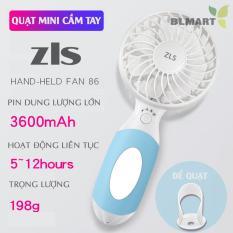 Quạt mini cầm tay ZLS pin dung lượng lớn 3600mAH – ZLS