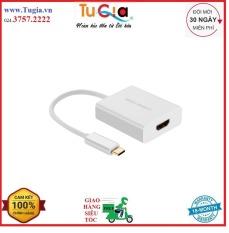 Cáp USB Type-C to HDMI cao cấp hỗ trợ 4K*2K, 3D 20cm- Ugreen 40273 Hàng chính hãng