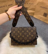 Túi đeo chéo hộp chữ nhật quai xích, túi xách thời trang nữ