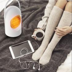 Máy sưởi ấm để bàn mini tiện lợi, Quạt sưởi ấm đa năng tiện lợi làm ấm tay, chân cơ thể nhanh chóng, máy sưởi ấm du lịch công suất 400W phù hợp cho sử dụng gia đình hoặc ở văn phòng