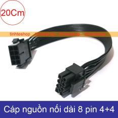 Cáp nối dài nguồn 8pin cho Video card – Dây nguồn 8pin nối dài – Cáp nguồn 8pin PSU ra 8pin PCI-E 20Cm Brawis BR-CB8PMF20CM