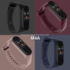 Vòng đeo tay thông minh smart watch chống nước tiêu chuẩn IP67 màn hính chính thay đổi được 3 diện mạo siêu nét M4A