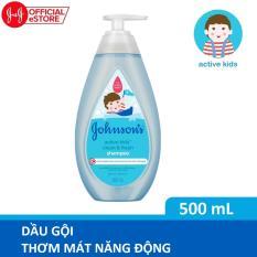 Dầu gội Johnson's thơm mát năng động 500ml (MỚI) – 100979997
