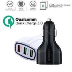 Củ Sạc Nhanh QC3.0 3 Cổng USB 1 Cổng Sạc Nhanh Trên Xe Hơi
