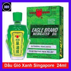 Dầu Gió Xanh Singapore 24ML – Dầu Gió Xanh Con Ó