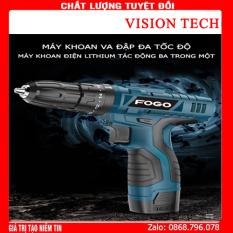 Máy khoan pin FOGO pin 12V , máy khoan đa năng, máy khoan bắn vit, máy khoan cầm tay, bộ máy khoan sửa chữa vặn vít FOGO 12V có đảo chiều máy khoan pin – khoan pin – máy bắn vít – may khoan pin gia re – khoan cầm tay – may khoan pin