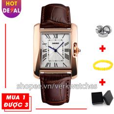 Đồng hồ nữ dây da thời trang cao cấp SKMEI SK1085 phong cách cá tính – đồng hồ nữ – đồng hồ nữ thời trang – đồng hồ nữ dây da – đồng hồ nữ phong cách