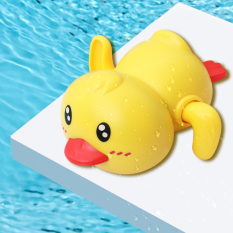 Đồ chơi nhà tắm vịt con KAVY vặn cót biết bơi vui nhộn dễ thương nhựa nguyên sinh an toàn – nhiều màu